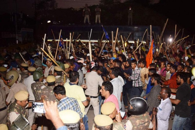 Bhim Army Chief Chandrashekhar Azad Arrested After Clashes In Delhi Over Ravidas Temple Demolition