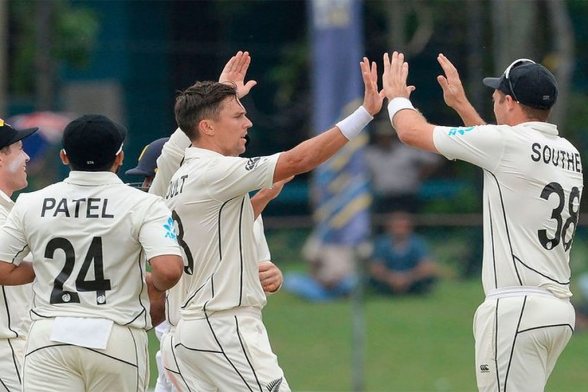 Sri Lanka v New Zealand: Trent Boult, Tim Southee Rattle Hosts In Rain-Hit Colombo Test