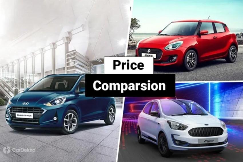 Hyundai Grand i10 Nios vs Maruti Suzuki Swift vs Ford Figo: What Do The Prices Say?