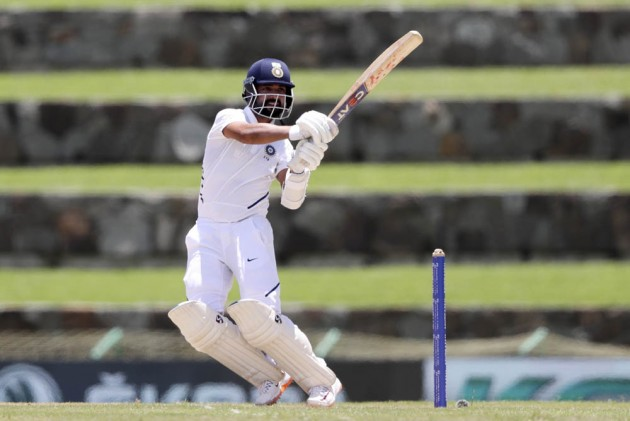 West Indies Vs India, 1st Test, Day 1: Ajinkya Rahane Comes To IND's Rescue After Top Order Collapse