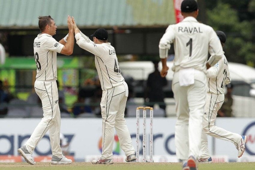 Sri Lanka v New Zealand, 2nd Test, Colombo: Rain Ruins Day 2 After Trent Boult, Tim Southee Strikes