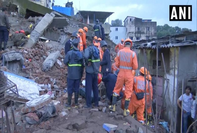 Two Dead, Several Feared Trapped As Building Collapses In Maharashtra's Bhiwandi
