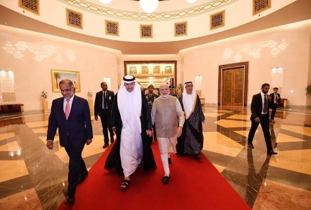 PM Modi Arrives In UAE To Strenghten Bilateral Ties