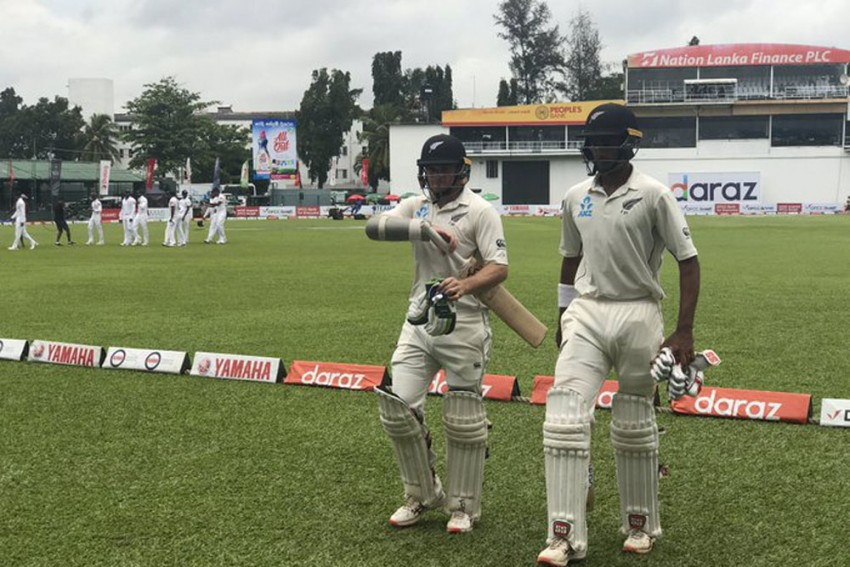 Sri Lanka Vs New Zealand, 2nd Test, Day 3, Colombo, Highlights: NZ 196/4 At Stumps, Trail By 48 Runs