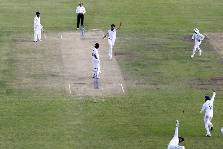 West Indies Vs India, 1st Test, Day 2: Ishant Sharma Registers Five Wickets As IND Gain Control