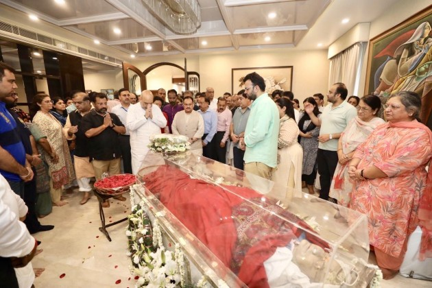 Arun Jaitley's Body Kept At His Residence, Last Rites Tomorrow | Updates