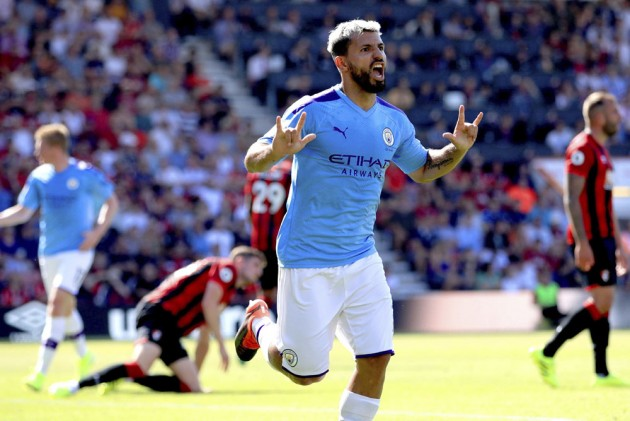 EPL, Bournemouth 1-3 Manchester City: Sergio Aguero Reaches 400 Career Goals As Champions Go Second