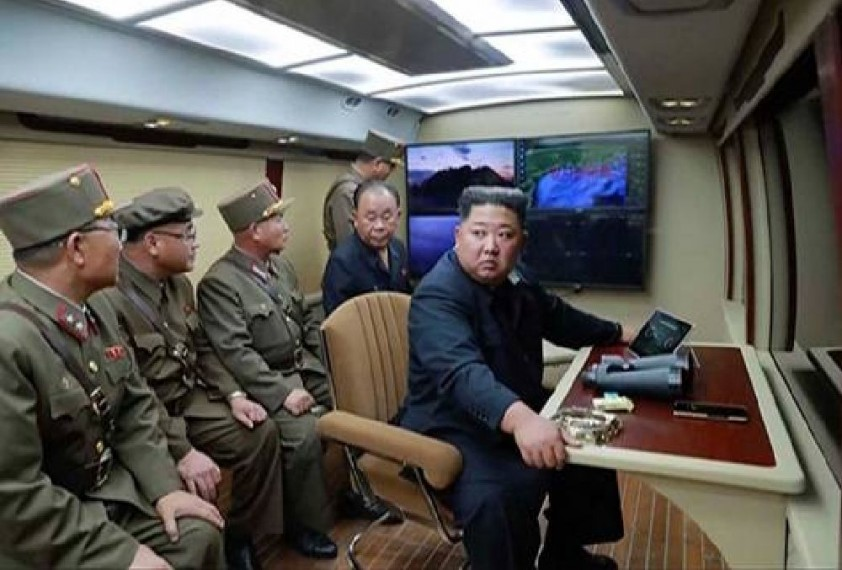 North Korea's Kim Jong Un Oversaw Test Of 'Super-large Multiple Rocket Launcher': KCNA