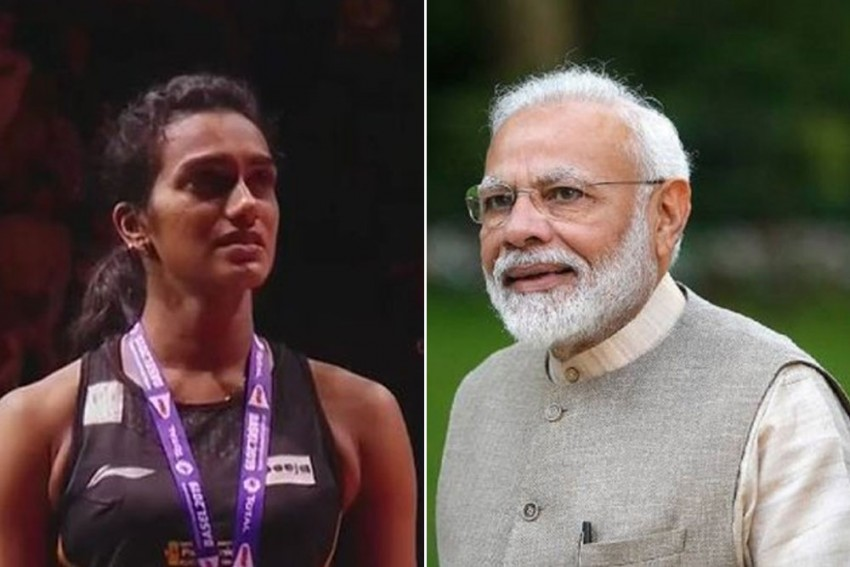 PM Narendra Modi Hails World Champion PV Sindhu, Says Shuttler's Success Will Inspire Generations