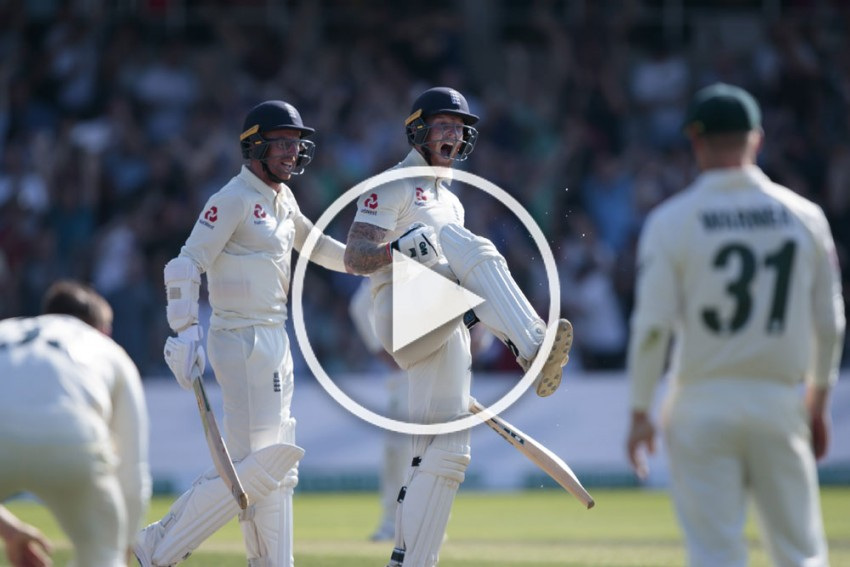 Ashes 2019, ENG Vs AUS, 3rd Test: Ben Stokes Produces A Cricket Miracle To Save England – WATCH