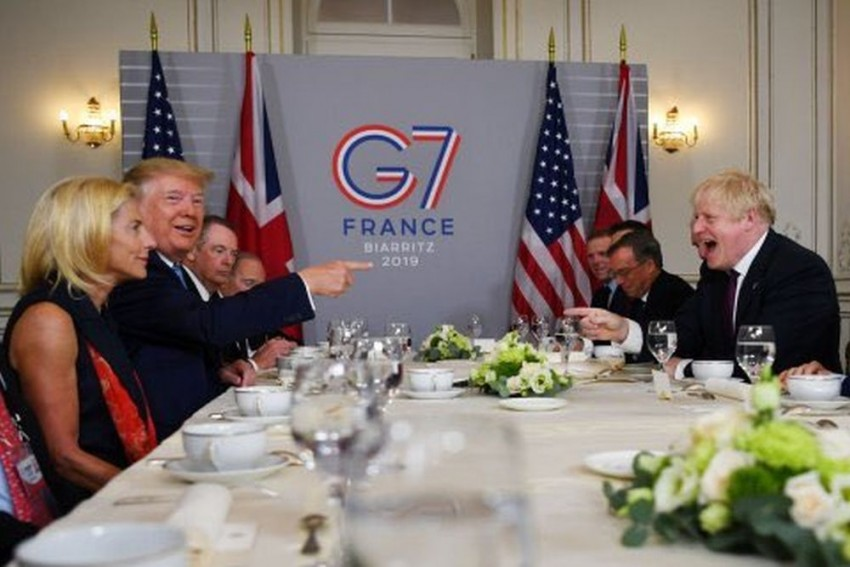 Trump Hails British PM Johnson As 'Right Man' For Brexit, Hints At 'Very Big US-UK Trade Deal'