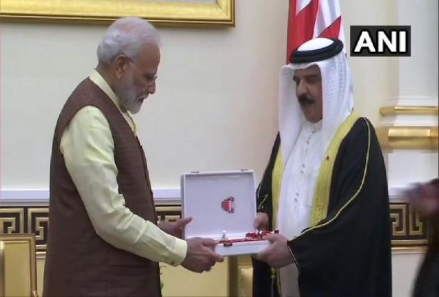 PM Modi Meets Bahraini Crown Prince, Conferred 'The King Hamad Order Of The Renaissance'