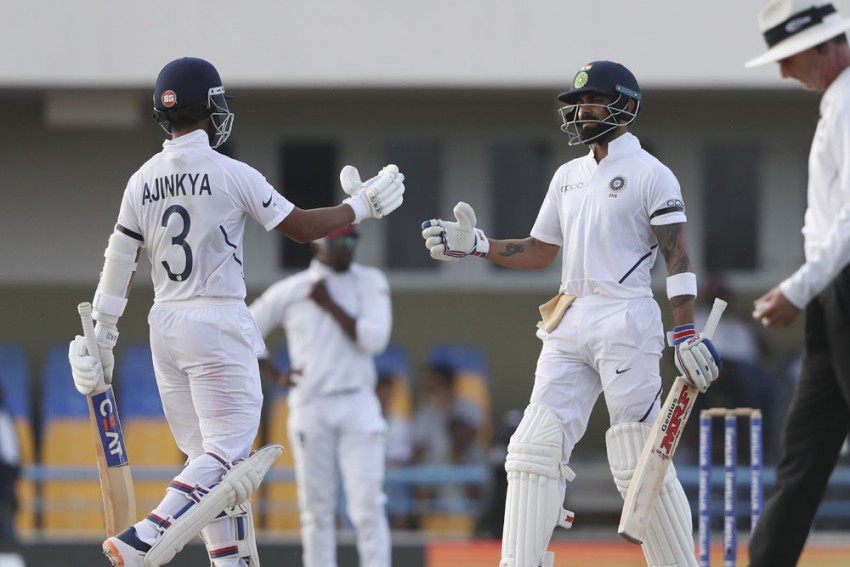 West Indies Vs India, 1st Test, Day 3: Ajinkya Rahane, Virat Kohli Take IND To Commanding Position Over WI