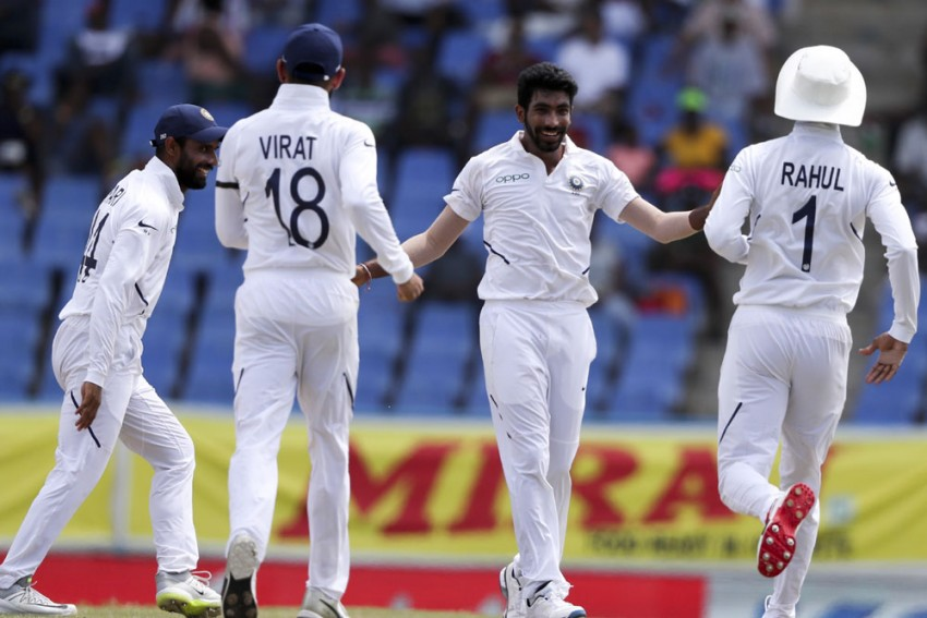 WI Vs IND, 1st Test: Ajinkya Rahane, Jasprit Bumrah Star As India Hammer West Indies By 318 Runs