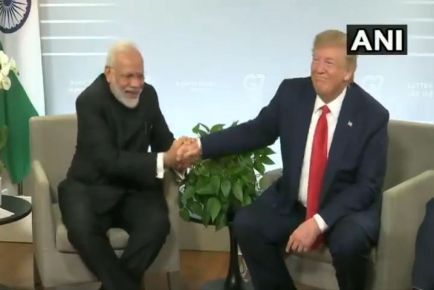 'He Speaks Very Good English...': Prez Trump Shares Light Moment With PM Modi -- Video