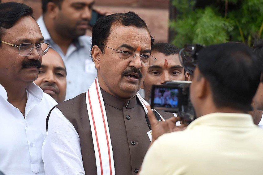 BJP Not Involved In Welcoming Bulandshahr Violence Accused, Says Dy UP CM Keshav Prasad Maurya