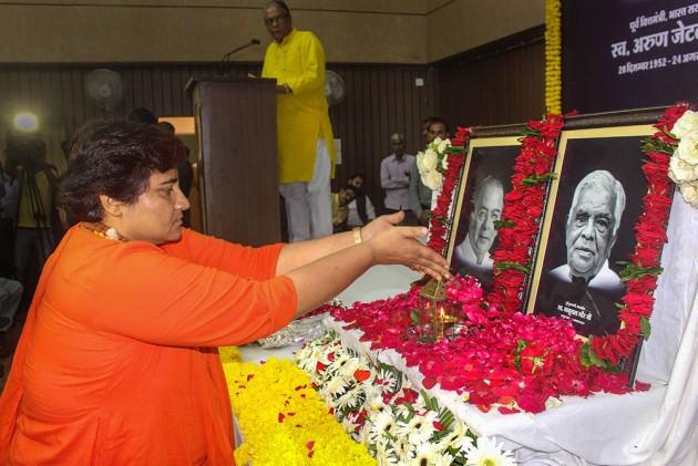 Opposition Using 'Maarak Shakti...': Pragya Thakur On Death Of BJP Leaders -- Video