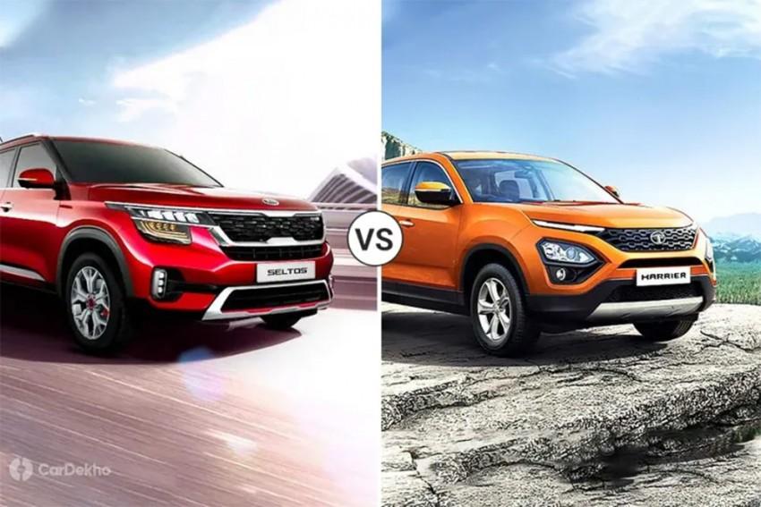 Kia Seltos vs Tata Harrier: Which SUV To Pick?