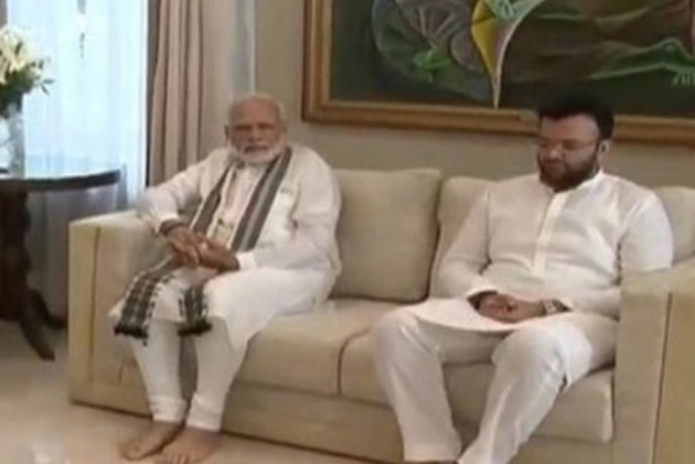 Back From 3-Nation Tour, PM Modi Visits Arun Jaitley's Home To Pay Tributes