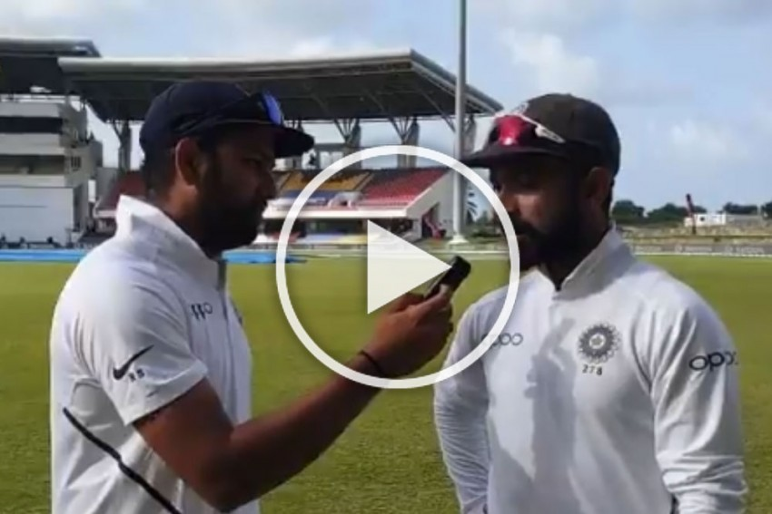 West Indies Vs India: Surplus To Test Requirements, Rohit Sharma Looks Uber Cool In New BCCI Role – WATCH