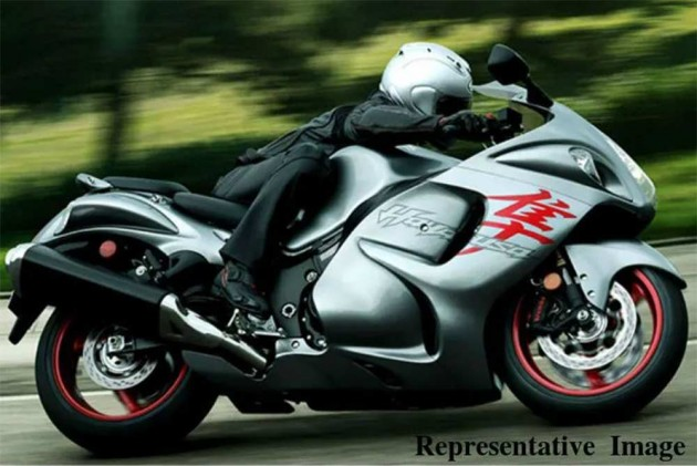 2020 Suzuki Hayabusa: New Patent Images Emerge
