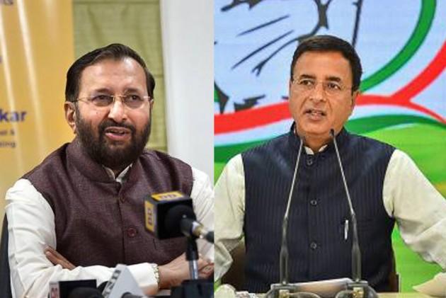 Apologise For J&K Comment, BJP Asks Rahul; Congress Calls Javadekar 'Misinformation' Minister