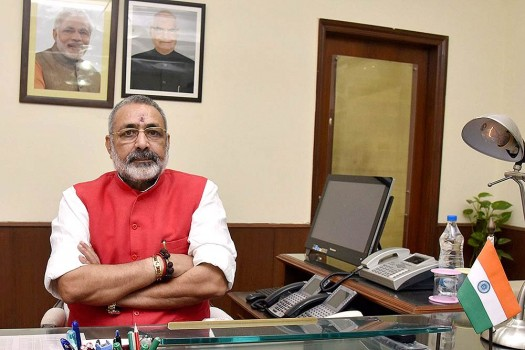BJP MP Giriraj Singh Likens Pak PM Imran Khan To 'Bhasmasura', Says He Should Follow PM Modi's Advice