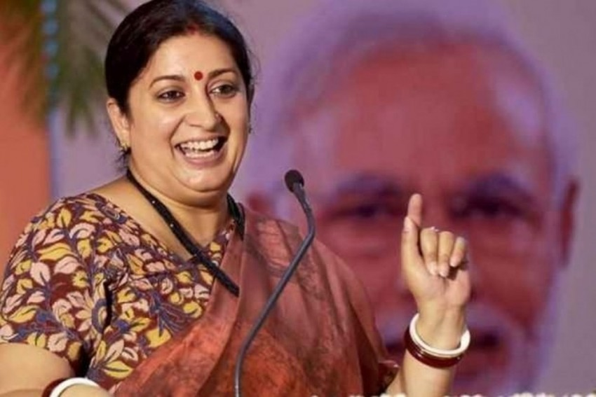 Rahul Gandhi Is Liked By Pakistan, He Cares Little For Tricolour: Smriti Irani