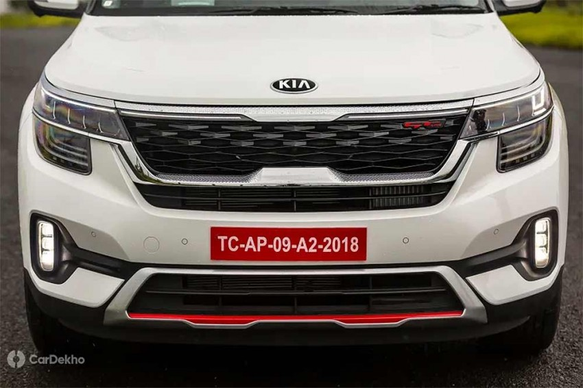 Kia Seltos Variants In Pics: Tech And GT Line