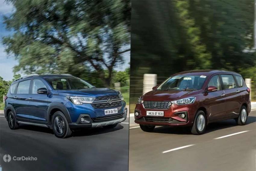 Maruti Suzuki XL6 vs Ertiga: In Pics