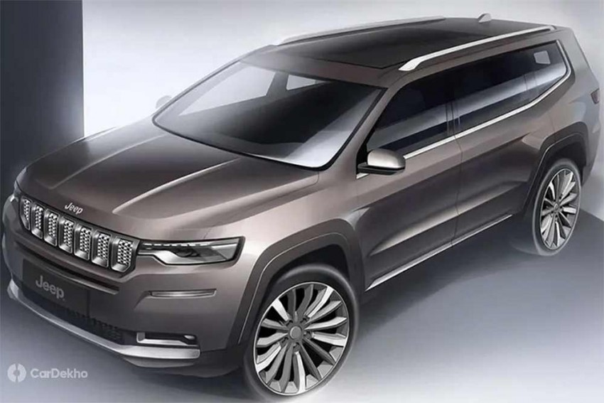 Jeep's 7-Seater SUV For India Could Feature Its Own Unique Design