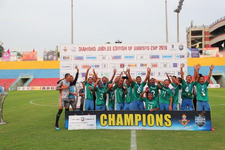 Subroto Cup: Mizoram's Saidan Secondary School Crowned Champions Of U-14 Sub-Junior Boys Tournament