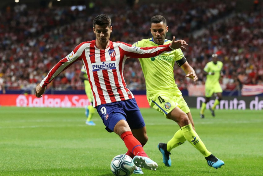 Alvaro Morata Suffers Knee Sprain In Atletico Madrid Training