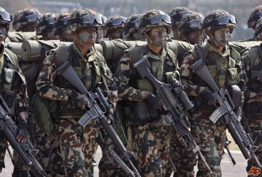 Nepal Army Takes Action Against Seven Officers For Being Overweight