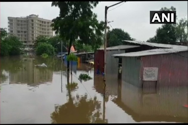Mumbai Rains: Thousands Stranded At Railway Stations After Water-Logging On Tracks
