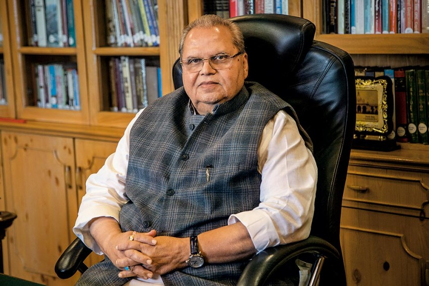 'Unnecessary Panic Being Created, Don't Believe In Rumours': J&K Guv Satya Pal Malik On Situation In Valley