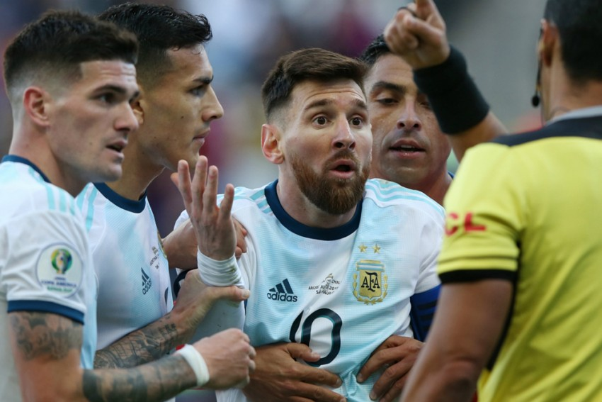 Barcelona Star Lionel Messi Given Argentina Ban By CONMEBOL After Copa America