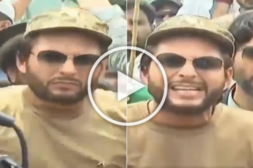 Ex-Pakistan Cricketer Shahid Afridi Hails Former Indian PM Atal Bihari Vajpayee, Criticises Narendra Modi – WATCH