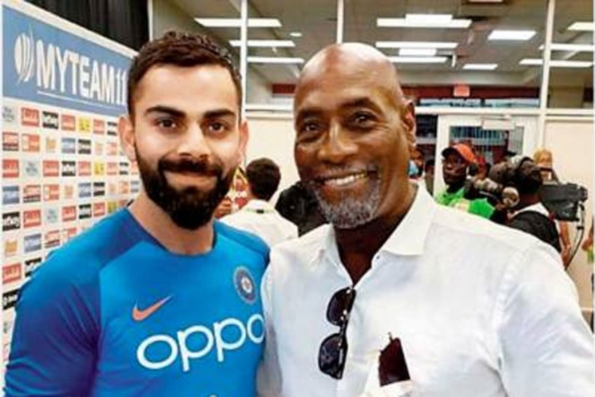 West Indies Vs India, 2nd Test: Viv Richards Recovers, Returns To Commentary After Falling Ill During Pre-Match Show