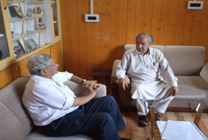 'Huge Difference Between Govt Claims And Actual Situation', Says Yechury After J&K Visit