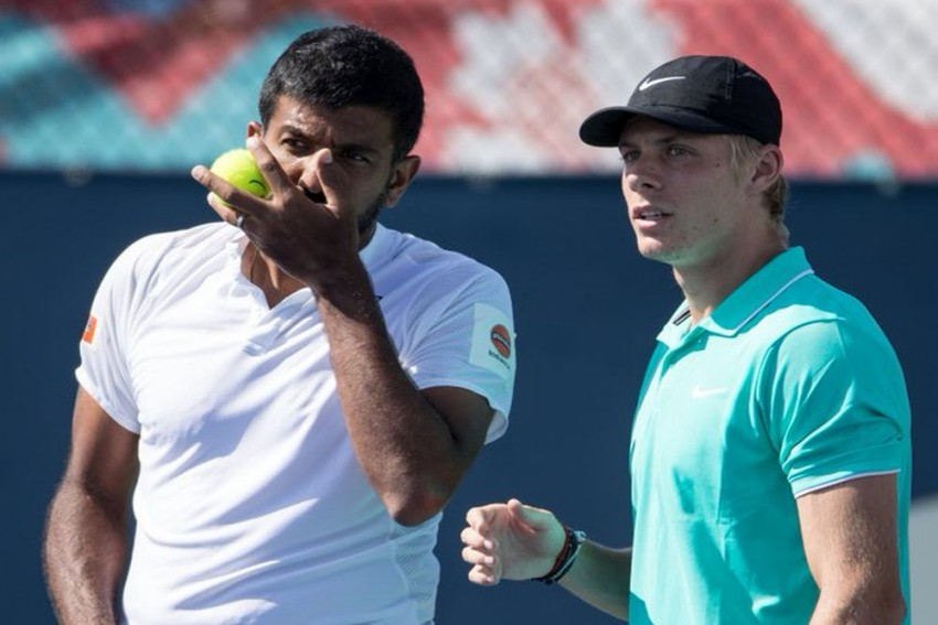 US Open 2019: Rohan Bopanna-Denis Shapovalov Move To Second Round; Leander Paes Out