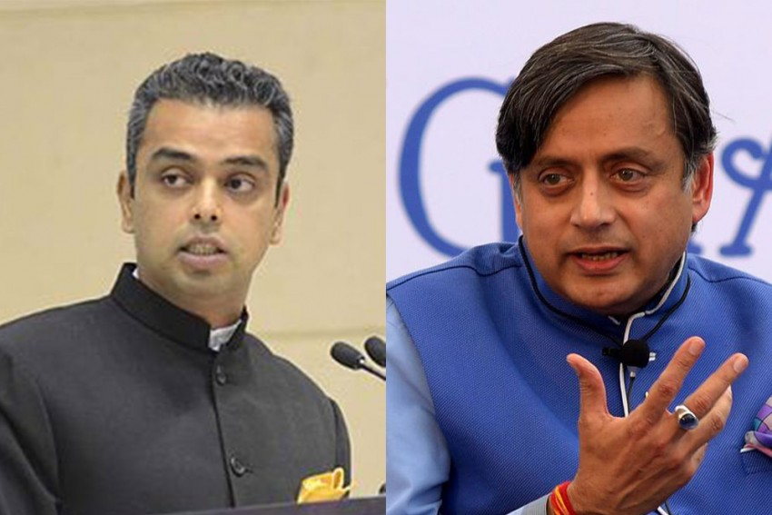 Shashi Tharoor Suggests Congress Hold Elections To Top Posts; Milind Deora Backs Scindia, Pilot