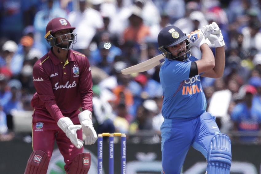 West Indies Vs India, 2nd T20I: Rohit Sharma Breaks Massive Chris Gayle Record