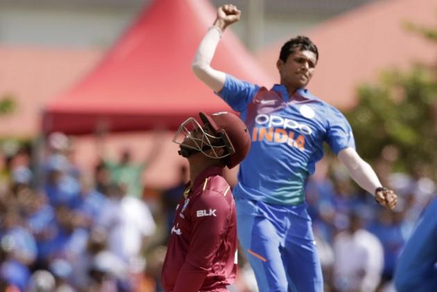 WI Vs IND, 1st T20I: Virat Kohli Heaps Praise On Debutant Navdeep Saini, Predicts Bright Future For Pacer