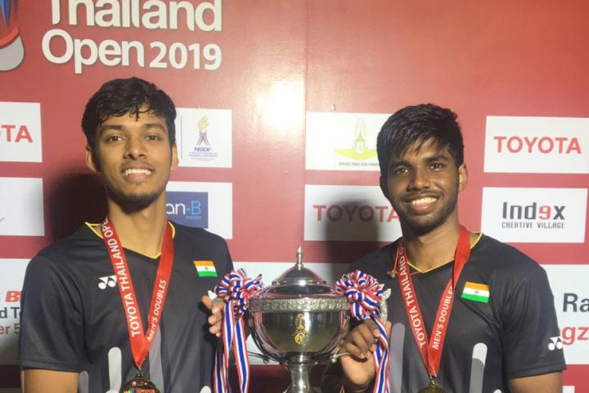 Satwiksairaj Rankireddy And Chirag Shetty Clinch Thailand Open Badminton Doubles Title For Landmark Win