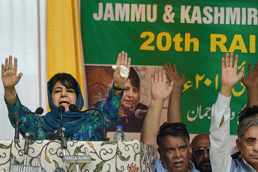We Feel Vajpayee Ji's Absence The Most Today, Says Former J&K CM Mehbooba Mufti