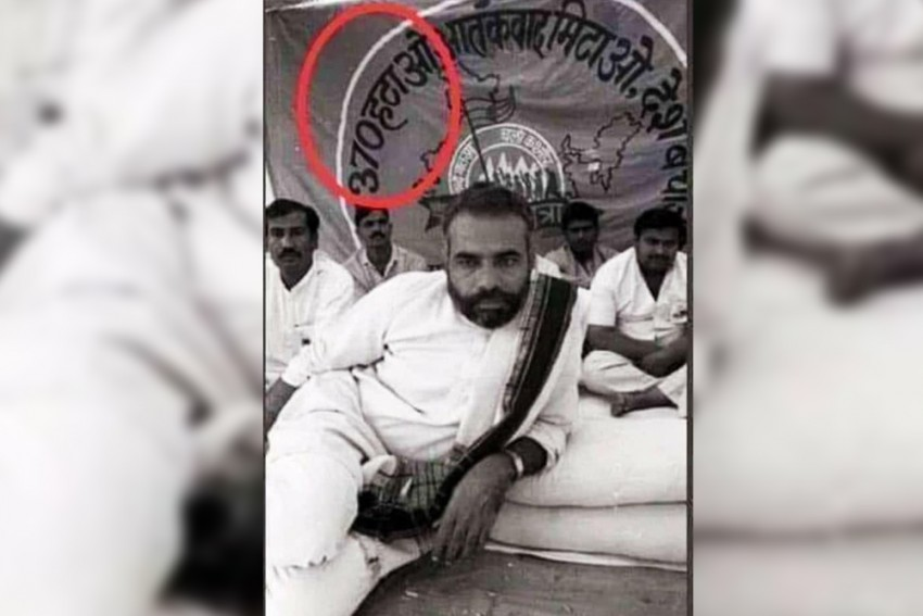 After Article 370 Announcement, Ram Madhav Tweets Old Photo Of PM Modi, Says 'Promise Fulfilled'