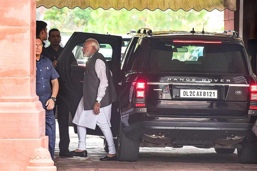 Union Cabinet Meeting At PM Narendra Modi's Residence Concludes Amid Uncertainty In J&K
