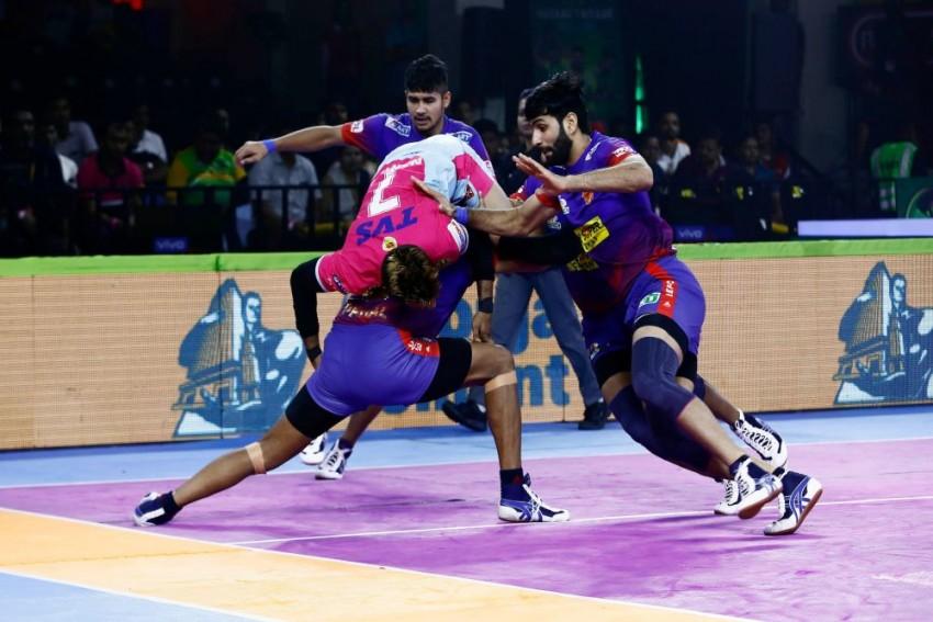 Pro Kabaddi League 2019: Dabang Delhi Beat Jaipur Pink Panthers 35-24