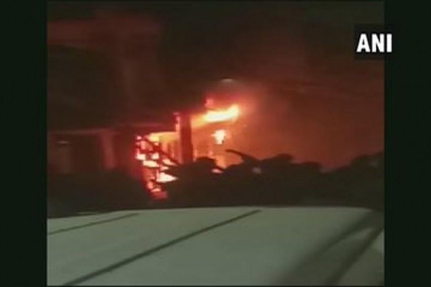 Six Killed, 11 Injured In Massive Fire In Residential Building In Delhi's Zakir Nagar Area